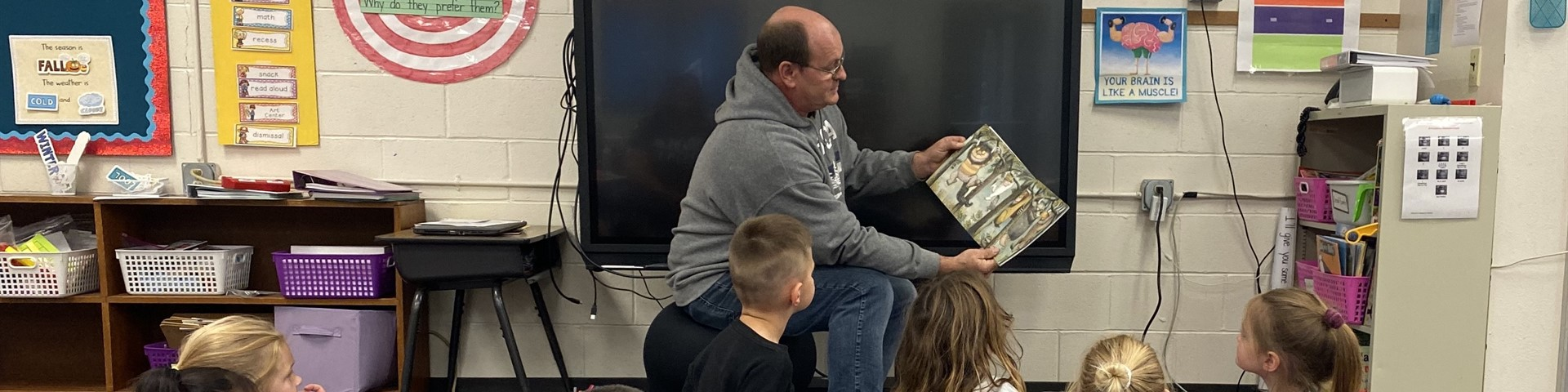 Reading to Kindergarten and First Grade