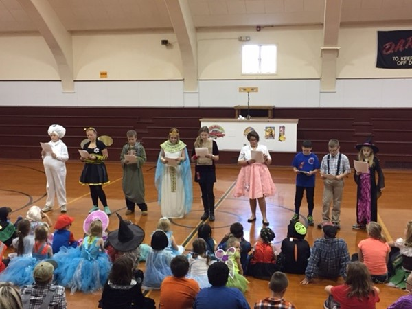 6th Grade Readers Theater
